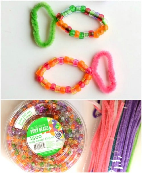 Easy Pony Bead Fish – Craft For Kids