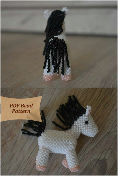 Adorable DIY Beaded Animals