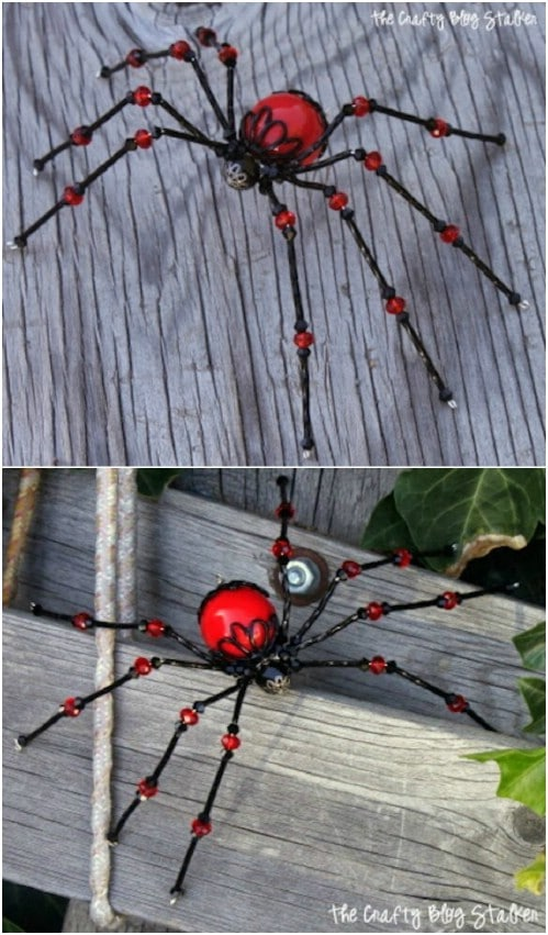 DIY Beaded Halloween Decorations