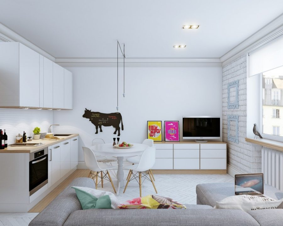 25-square-meter breezy apartment