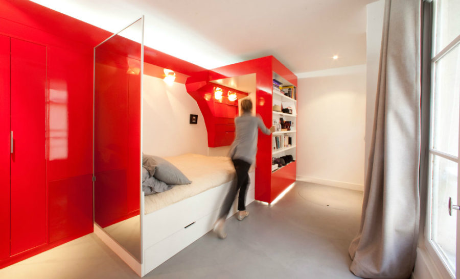 RedNest - 23 square-meter-apartment