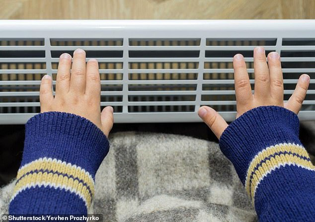 Is it cheaper to turn down the central heating in your house and use electric heaters instead?