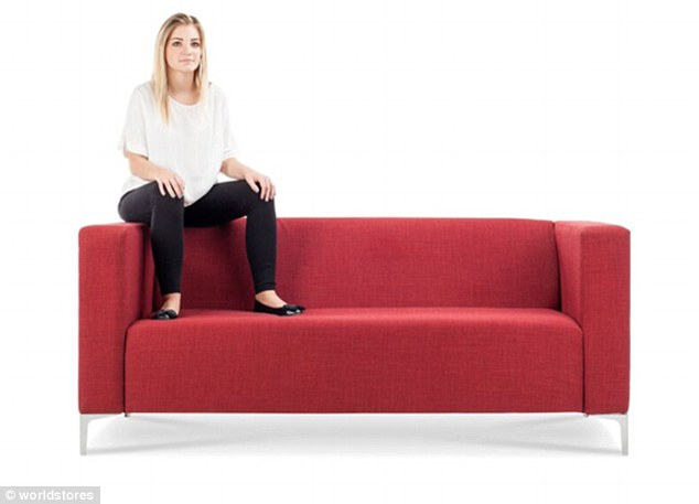 The Back Seater makes the person look larger than life and could be seen as a way to elevate yourself above everyone else in the room
