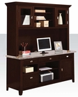 Contemporary Office Desk w/ Hutch by Acme Furniture AC92012DH