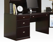 Office Desk in Espresso Finish by Acme AC92031