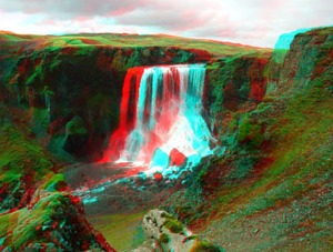 Stereoscopic 3D picture