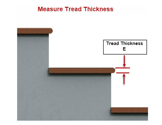 Measure the Tread Thickness